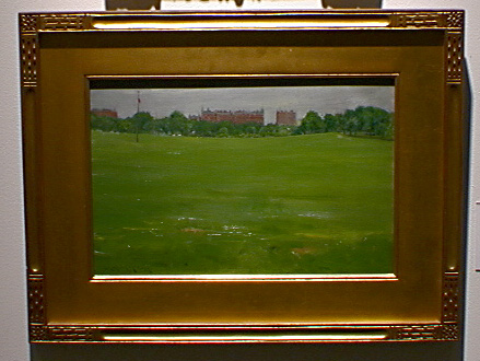 """Central Park"" by William Merritt Chase"