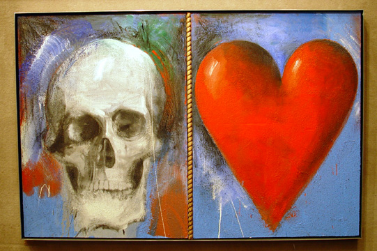 """Study for This Sovereign Life,"" by Jim Dine"