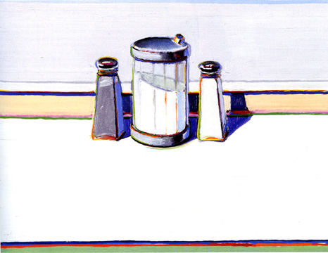 """Sugar, Salt and Pepper"" by Wayne Thiebaud"