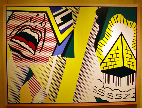 """Reflections: Mystical Painting"" by Roy Lichtenstein"