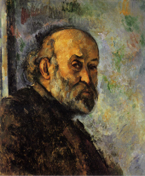 Self-portrait by Cézanne