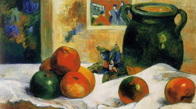"""Nature Morte à l'Estampe Japonais"" by Gauguin"