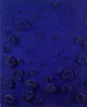 """RE21"" by Yves Klein"