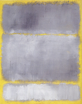 """Grays in Yellow"" by Rothko"