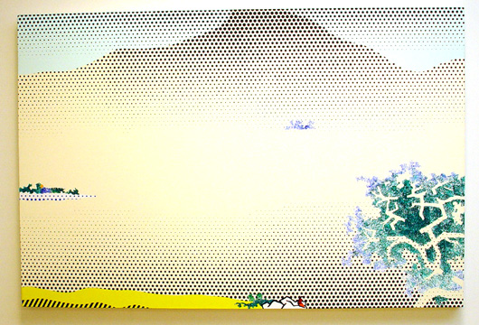 """Landscape with Seated Figure"" by Lichtenstein"