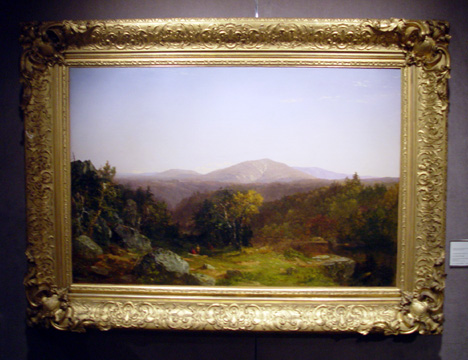 """View of Mount Washington"" by Kensett"
