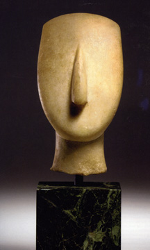 Cycladic head