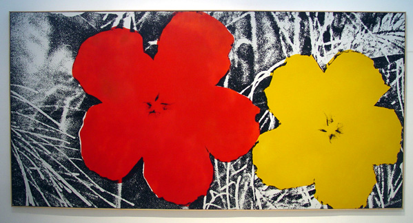 """Large Flowers"" by Warhol"