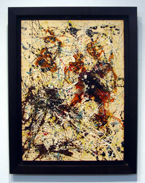 """Number 12, 1949"" by Jackson Pollock"
