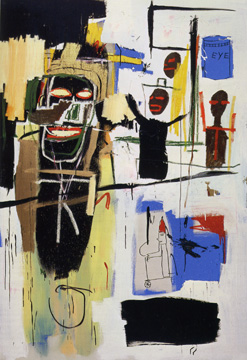 """Peel Quickly"" by Jean-Michel Basquiat"