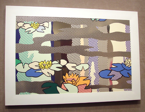 """Water Lily Pond with Reflections"" by Roy Lichtenstein"