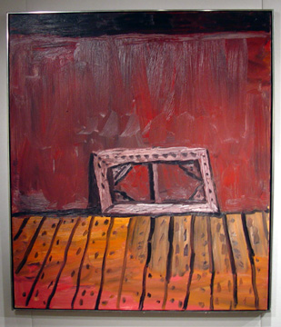 """Painting on Floor"" by Philip Guston"