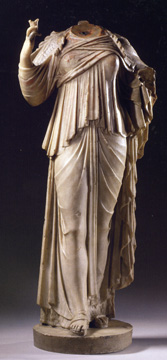 Roman figure of a goddess
