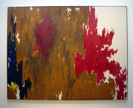 """1960-F"" by Clyfford Still"