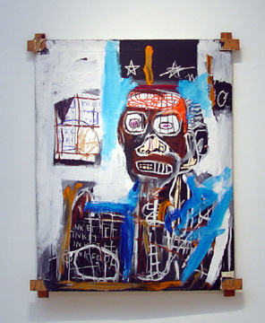 """Low-pressure Zone"" by Jean-Michel Basquiat"