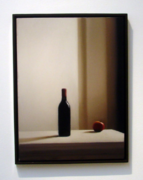 """Flasche Mit Apfeln (Bottle With Apple)"" by Richter"