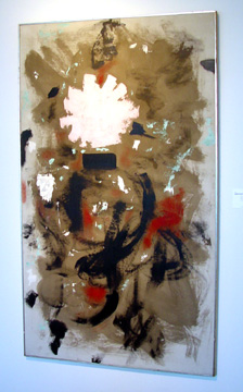 """Rising"" by Adolph Gottlieb"
