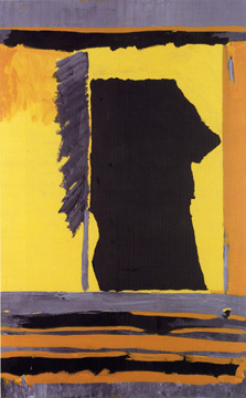 """Bete Noire"" by Robert Motherwell"