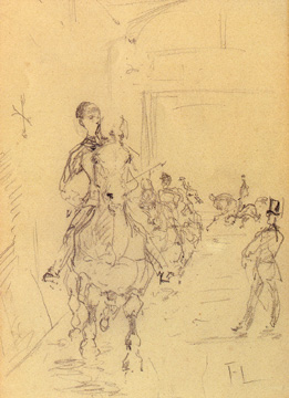 """Le Cirque"" by Toulouse-Lautrec"