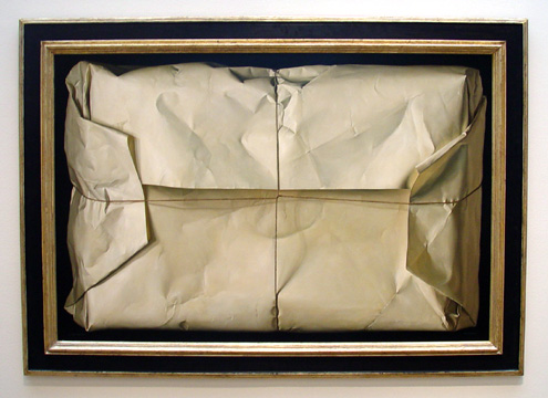 """White Package,"" by Claudio Bravo"