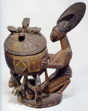 Yoruba bowl by Olowe of Ise