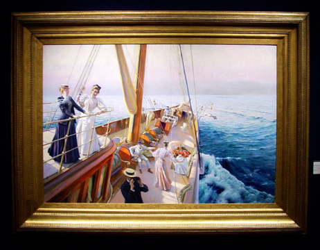 """Yachting in the Mediterranean"" by Stewart"