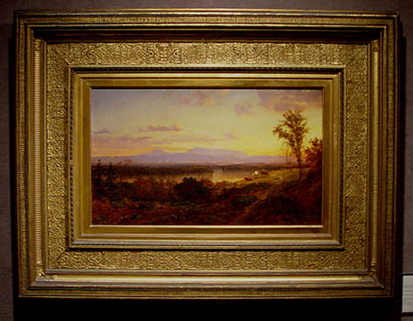 """Autumn Landscape"" by Cropsey"