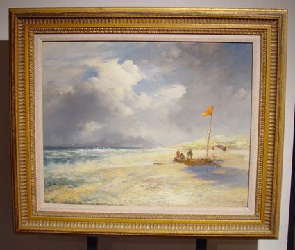 """East Hampton Beach"" by Moran"