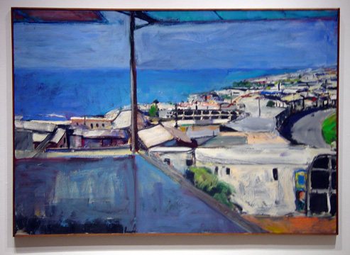 """Untitled (Santa Cruz I)"" by Diebenkorn"