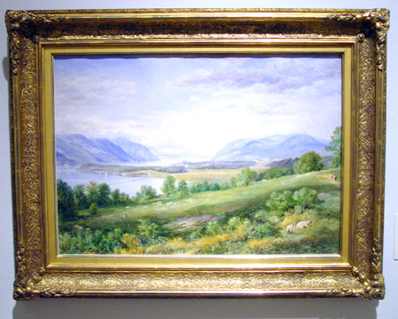 """The Hudson River from Cold Spring"" by John William Hill"
