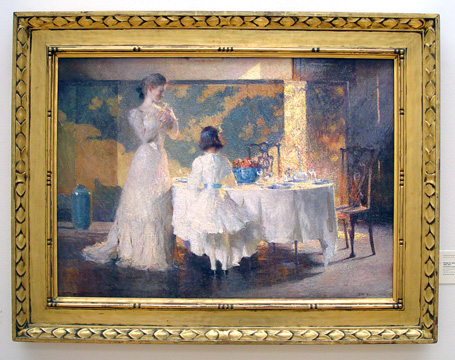 """The Artist's Daughters (The Dining Room)"" by Benson"