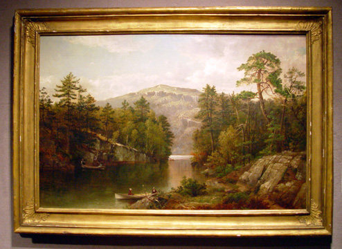 """A View on Lake George (Paradise Bay)"" by David Johnson"