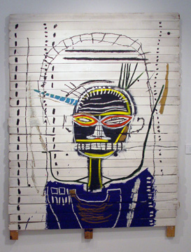"""M"" by Basquiat"