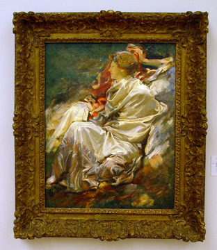 """Cashmere Shawl (Dorothy Barnard and Nicola D'Inverno)"" by Sargent"