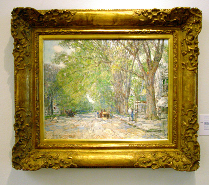 """Easthampton Elms in May"" by Hassam"