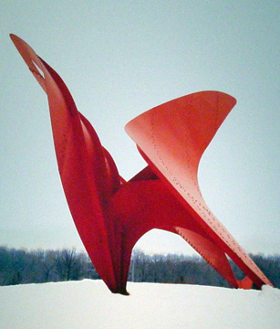 """Flying Dragon"" by Calder"