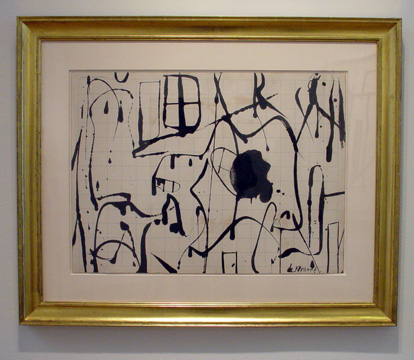 Untitled double-sided drawing by de Kooning