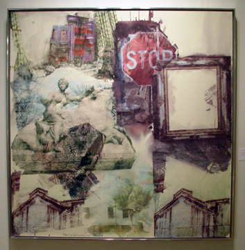 """Stop-Pied (Anagrams [A Pun])"" by Rauschenberg"