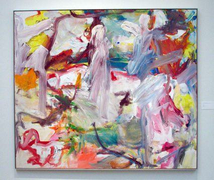 """Untitled XVI"" by de Kooning"""