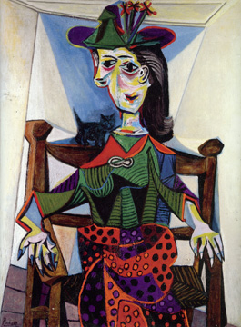 """Dora Maar au Chat"" by Picasso"