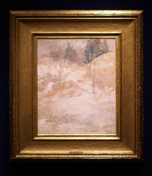 """Hemlocks"" by Twachtman"