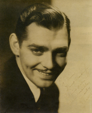 Clark Gable by Russell Ball