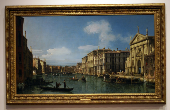 """The Grand Canal at the Church of San Stae"" by Belloto"