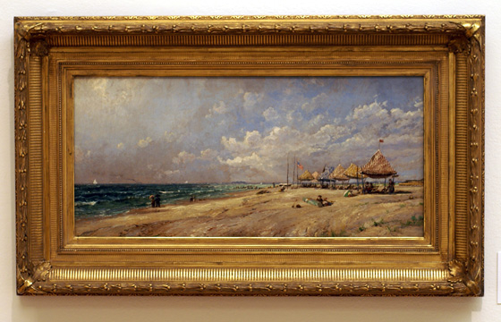 """Long Beach"" by Cropsey"