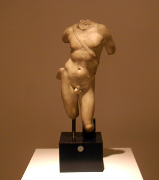 Roman marble figure of Apolllo