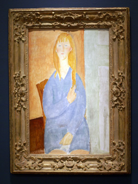 """Jeune Fille Assise"" by Modigliani"