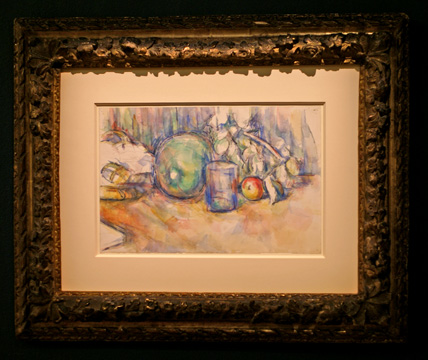 """Nature Morte au Melon Vert"" by Cézanne"