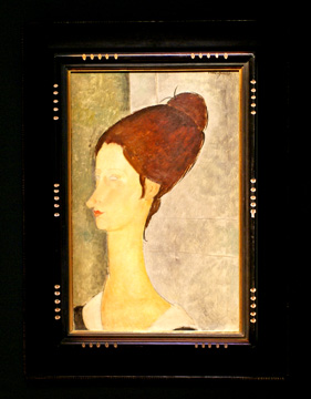 """Portrait de Jeanne Hébuterne"" by Modigiliani"