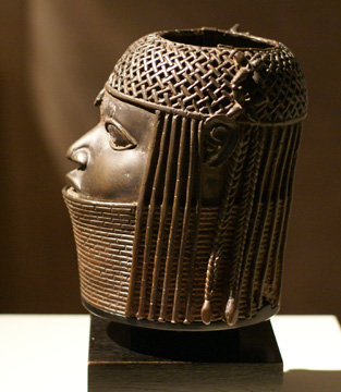 Benin head of an Oba