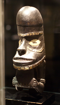 Solomon Islands canoe prow ornament
